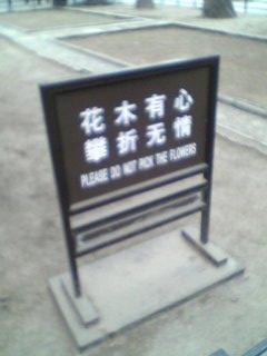 看板 SIGN 北京, Beijing Hidemi Shimura