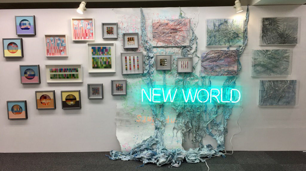 新シリーズ作品を展示するときに難しいと思ったこと インスタレーション, アーティストのための色々, hidemishimura, contemporaryart Hidemi Shimura